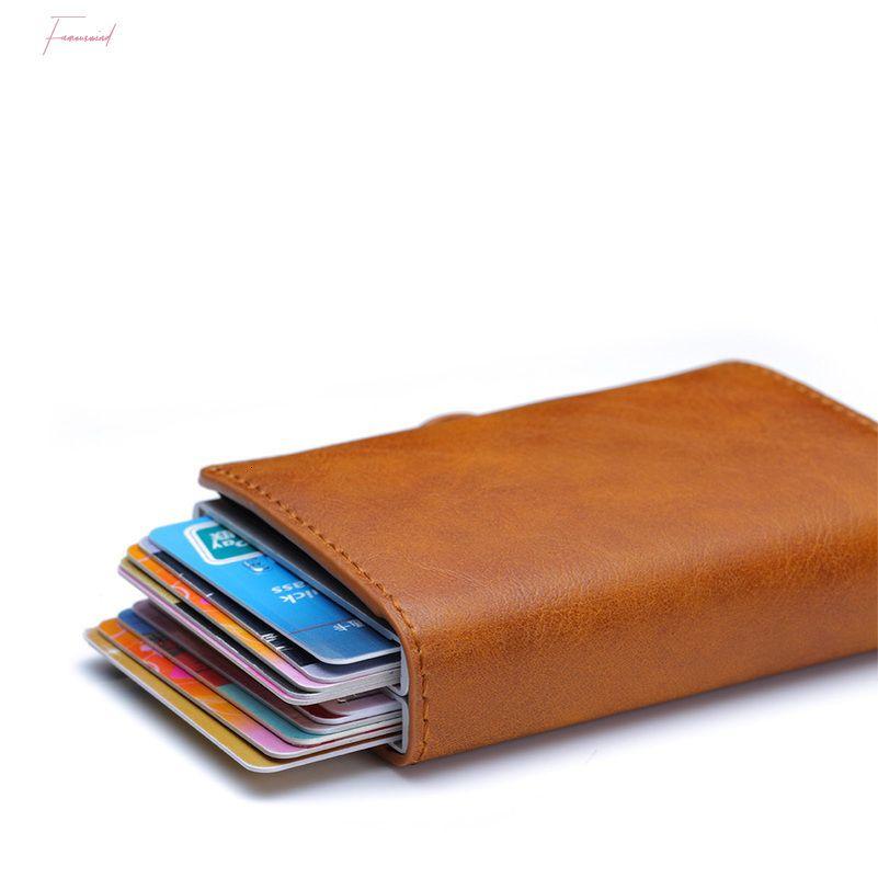 Free Engraving Carbon Fiber Leather Men Wallet Money Bag Purse Small Mini Card Holder Portomonee Male Walet Pocket Portfolio
