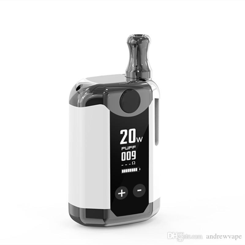 Authentic Kangvape TH420 V Box Kit 800mAh 20W Adjustable Wattage Temperature Vape Mod TH-420 V Starter Kit with 0.5ml Ceramic Coil Cartridge