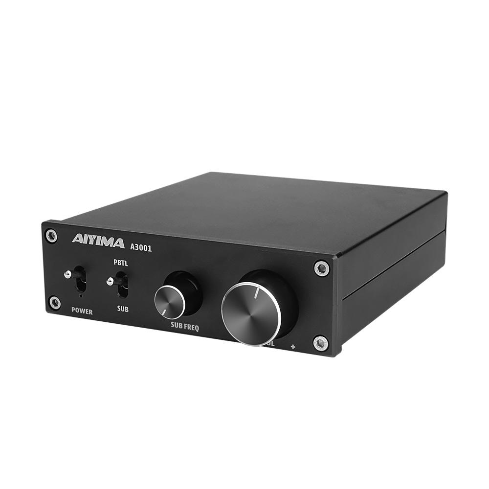 AIYIMA TPA3255 Subwoofer-Verstärker 300 W HIFI-Mono-Audio-Leistungsverstärker Klasse D Home-Audio-Verstärker AMP NE5532 OP AMP Bass Treble Adjust