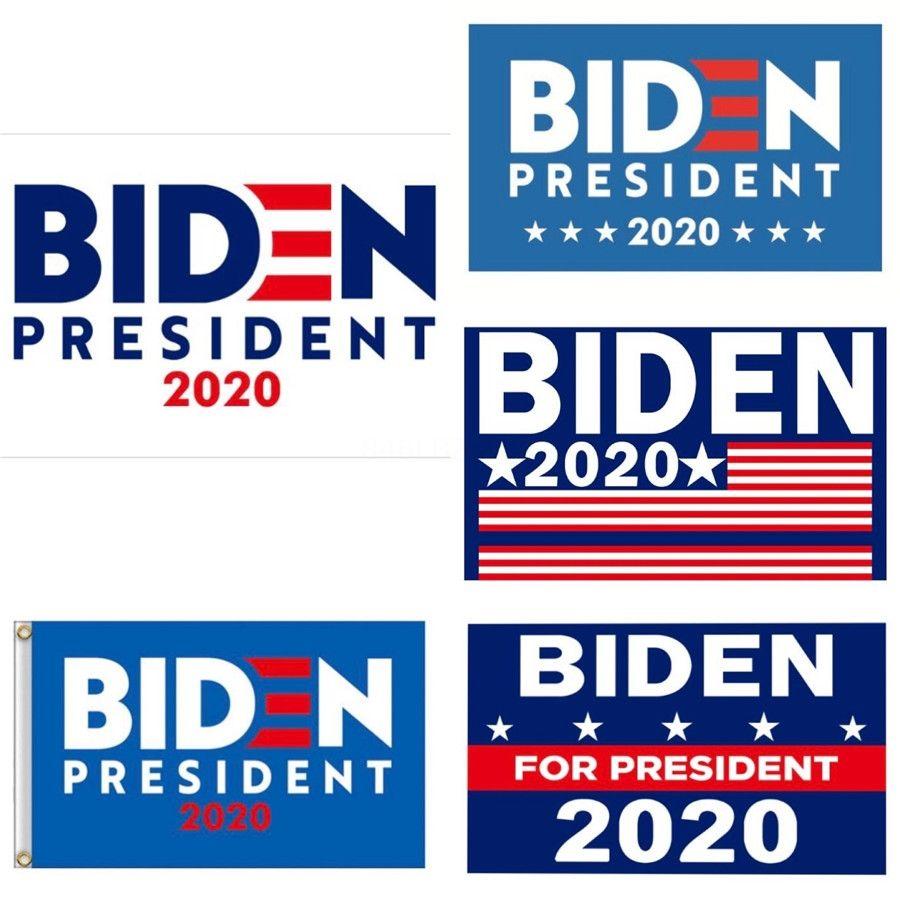 Biden Garden Flag Outdoor Decore Usa Presidente Geral Bandeira Eleição 2020 Bandeira Biden Pennant bandeira Flags 90 * 150cm # 827