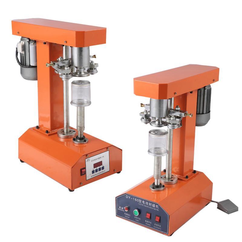 110V 220V desktop can sealing machine for orange paint sealer milk tea shop easy sealing cup machine