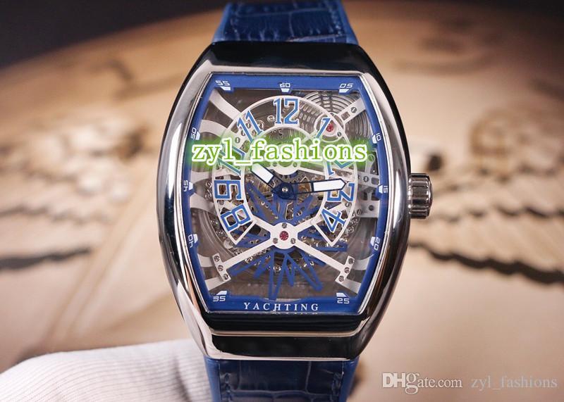 Бутик мужской Новые наручные часы Silver Корпус из нержавеющей стали смотреть две иглы Atmosphere Рим циферблатом смотреть автоматические механические спортивные часы