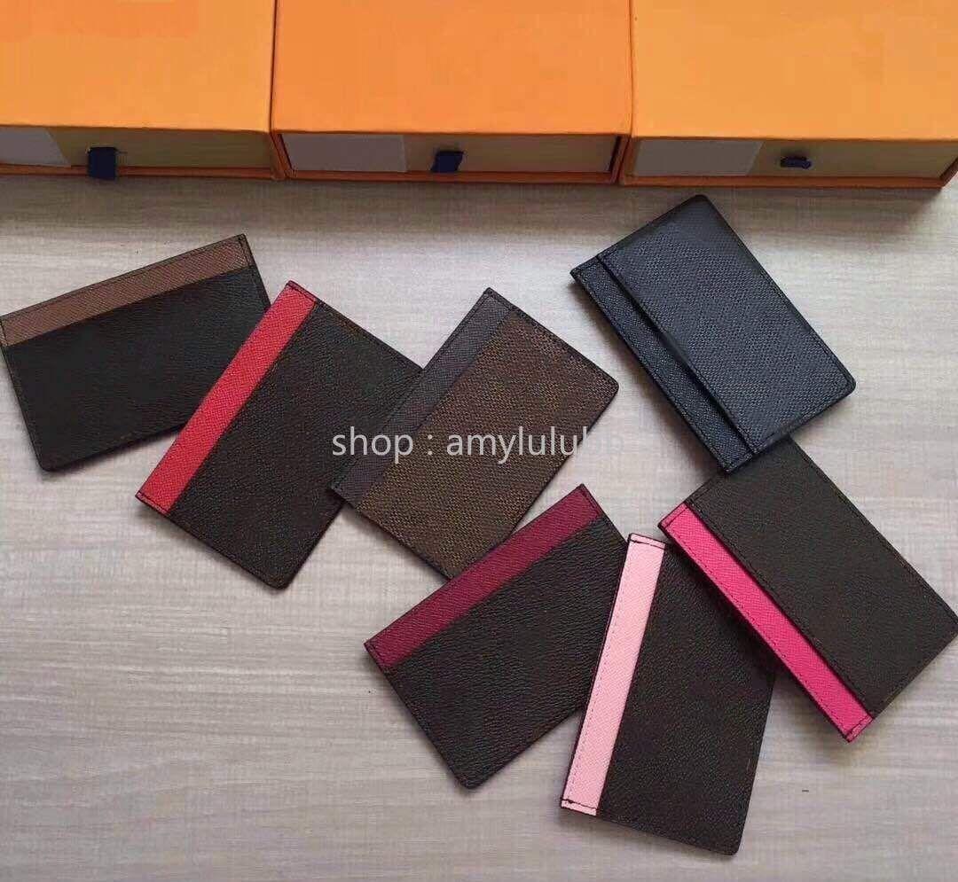 Классический классический визитница для женщин пакет карт гладкий минималистский набор кредитных карт мини многокарточный маленький портмоне для мужчин