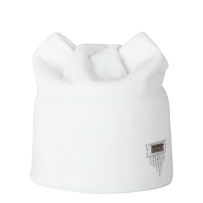 Bonnets Femme Automne Hiver Flanelle Squullies Cat Ear Chapeaux Plus Velvet Double Couche Double Caps Caps Casquettes Casual Casual Bonnet
