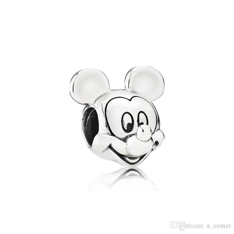 Nuevo clásico de alta calidad 925 Sterling Silver Charm Set Original Box para Pandora Jewelry Accessories Pulsera Beads Charms