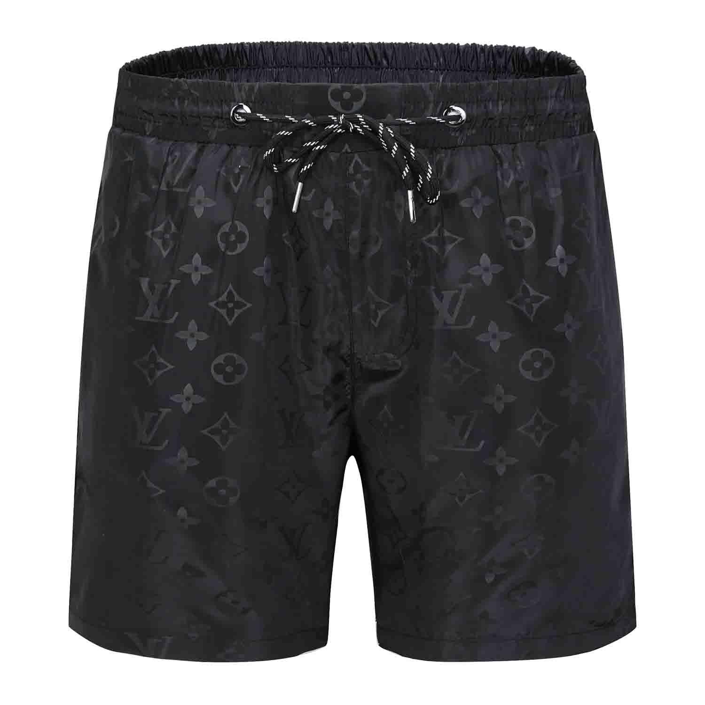 y0ss la nueva moda del listado de los pantalones Pequeño caballo playa de los hombres del diseño de la raya del POLO Verano shorts para trajes de baño hombre Pantalones cortos de secado rápido Junta