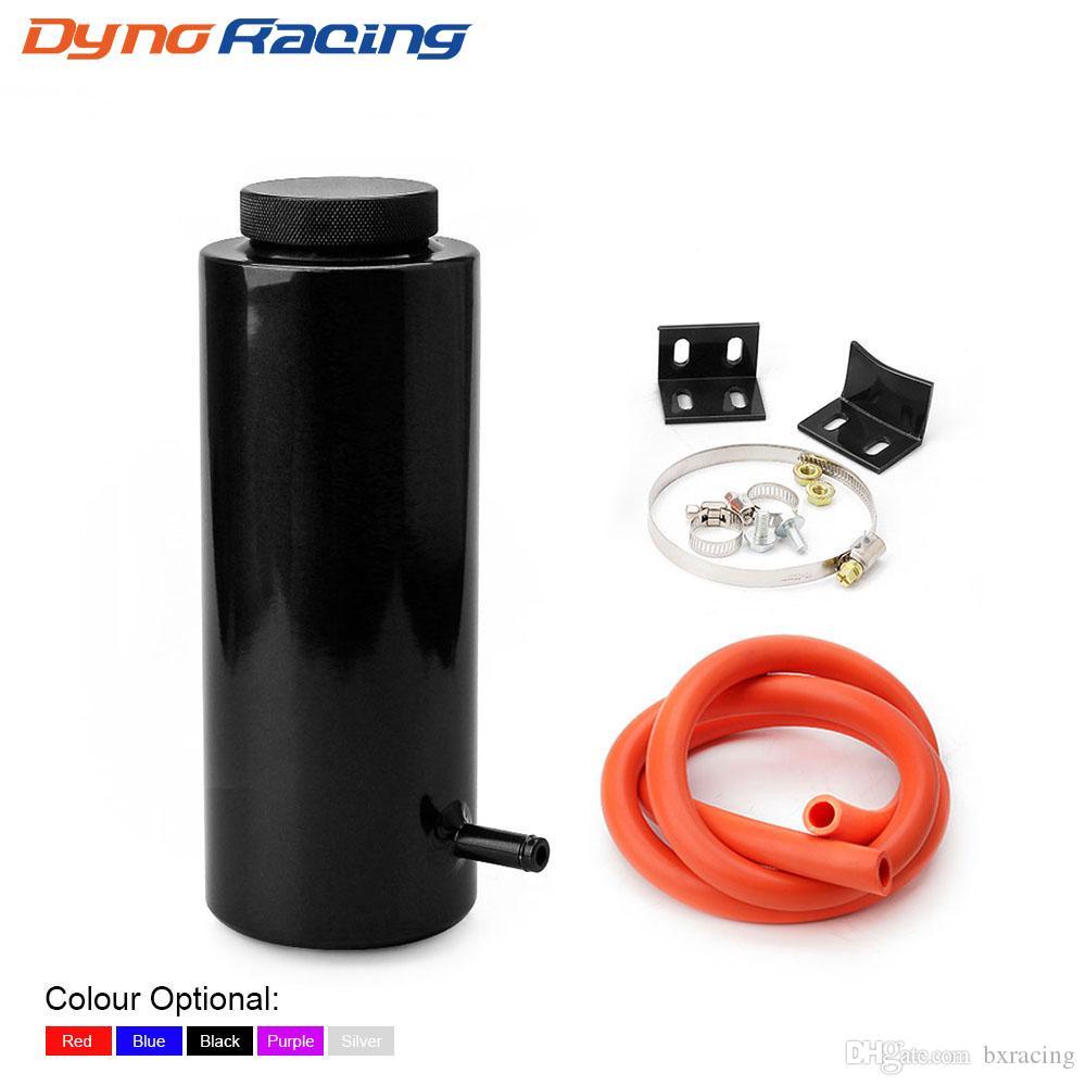 800ML Cylindre de radiateur trop-plein du réservoir de liquide de refroidissement du réservoir universel Can Noir Bleu Rouge Violet Argent YC101142