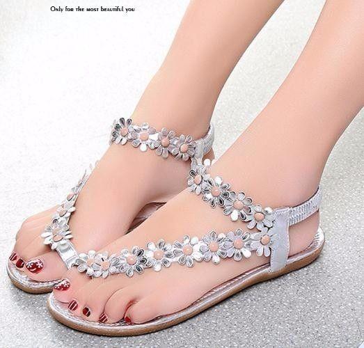 2019 Sandali Donna Summer Style Bowtie Fashion Toe Jelly Shoes Sandalo Scarpe Flat Donna 3 Colori 01f669