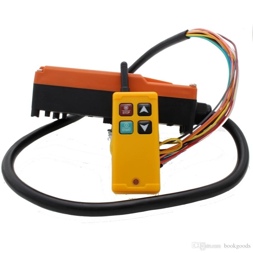 FreeshippingIndustrial drahtlose Funkfernsteuerung Schalter für Kran 1 Empfänger 1 Sender AC220V 110V 380V 36V 24V DC12V MKLTS-4