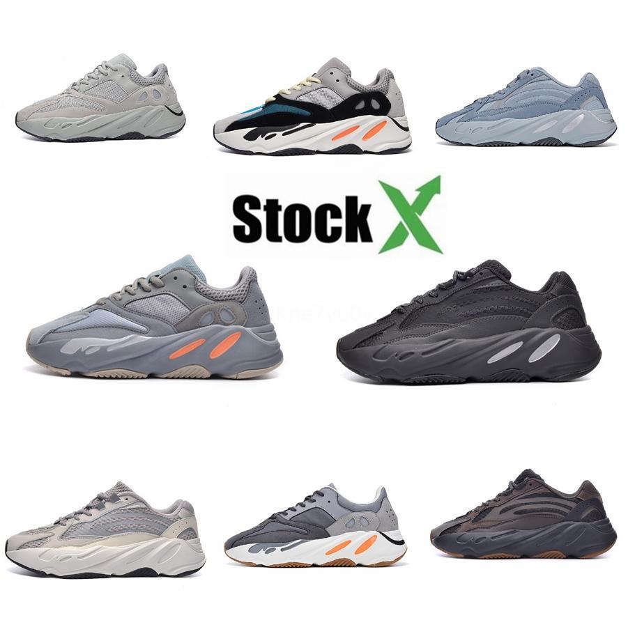 2020 Mnvn 700 Оранжевый Alvah V1 V2 V3 Bone Инерция Тефра Static Solid Kanye West кроссовки мужские кроссовки женщин Углерод синий больницы # QA549