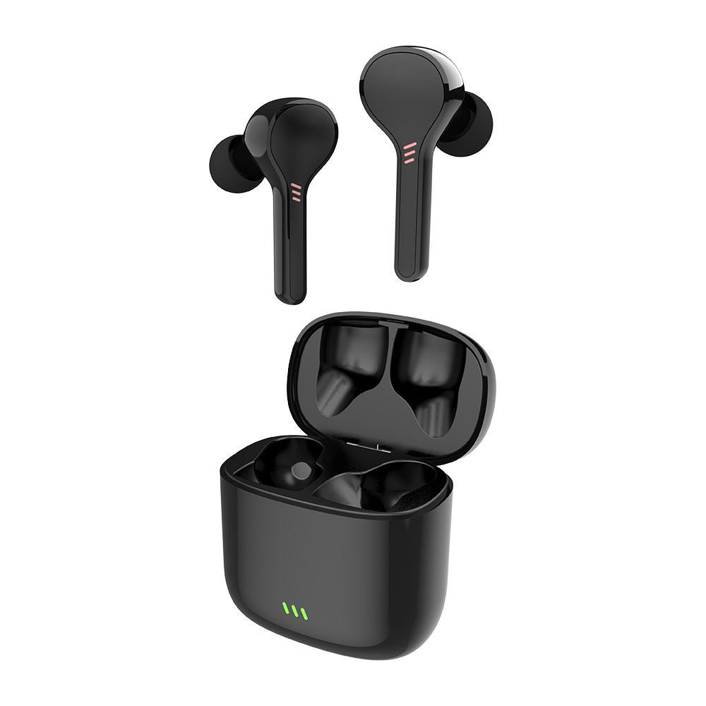 TWS Bluetooth V5.0 Casque 3D stéréo Sport écouteurs sans fil avec microphone double