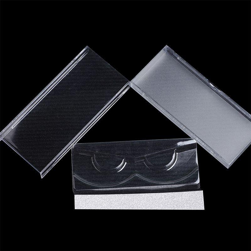 Caixa de cílios 3D vison caixa de cílios caso cílios falsos eye lash embalagem com cartão de prata / cartão de ouro 60 conjuntos frete grátis DHL
