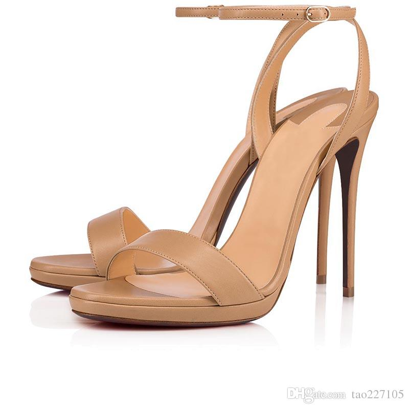 Rouge bas femme talons hauts plateforme talons sandale orteil ouvert bride talons sandales fête de mariage mode chaussures d'été