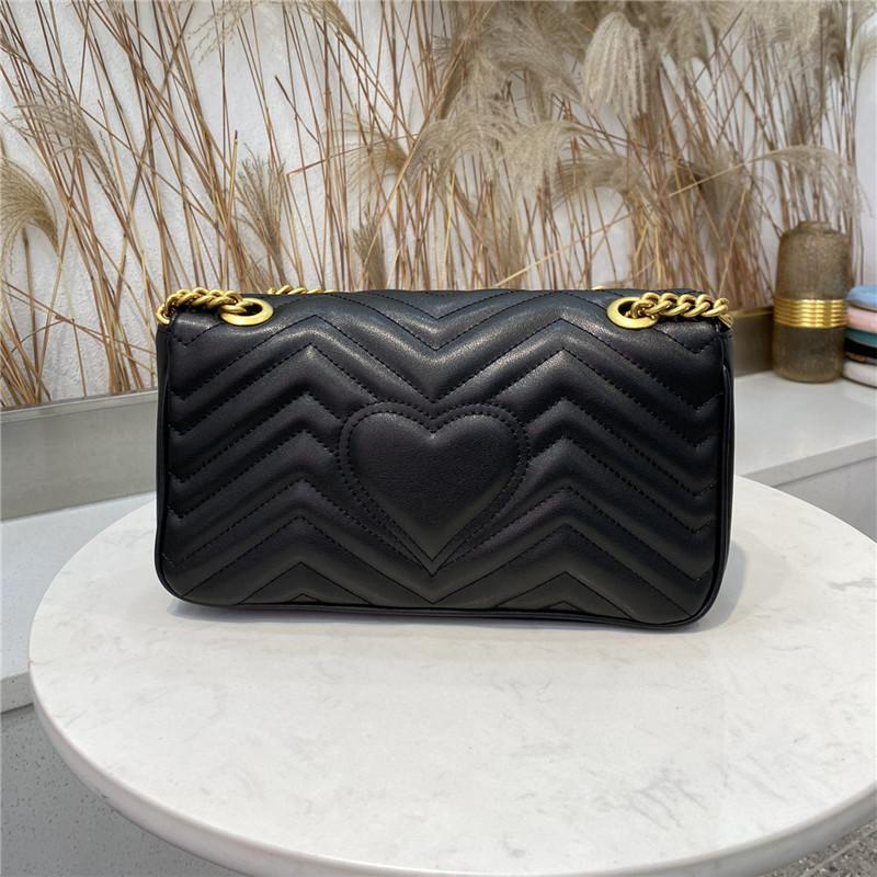 2021 hot solds womens bags handbags purses high quality Handbag soft Genuine Leather women Shoulder Bags Come with BOX GB71