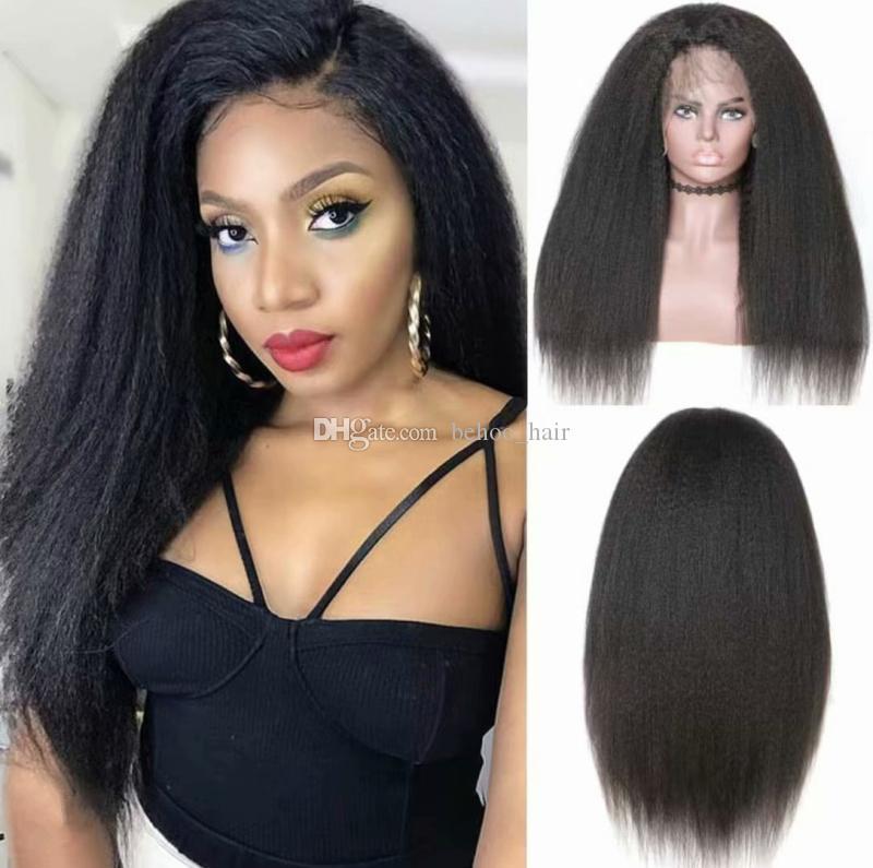 5 * 4,5 '' Glueless Silk Top Volle Spitze Echthaar Perücken Mit Dem Babyhaar Brasilianische Verworrene Glattes Haar Perücken Für Schwarze Frauen
