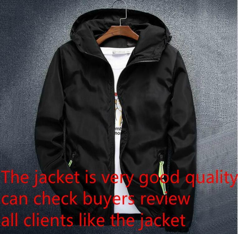 남성 스포츠웨어 의류 높은 품질에 대한 편지 윈드 지퍼 후드와 럭셔리 남성 디자이너 재킷 코트 패션 브랜드 후드 자켓