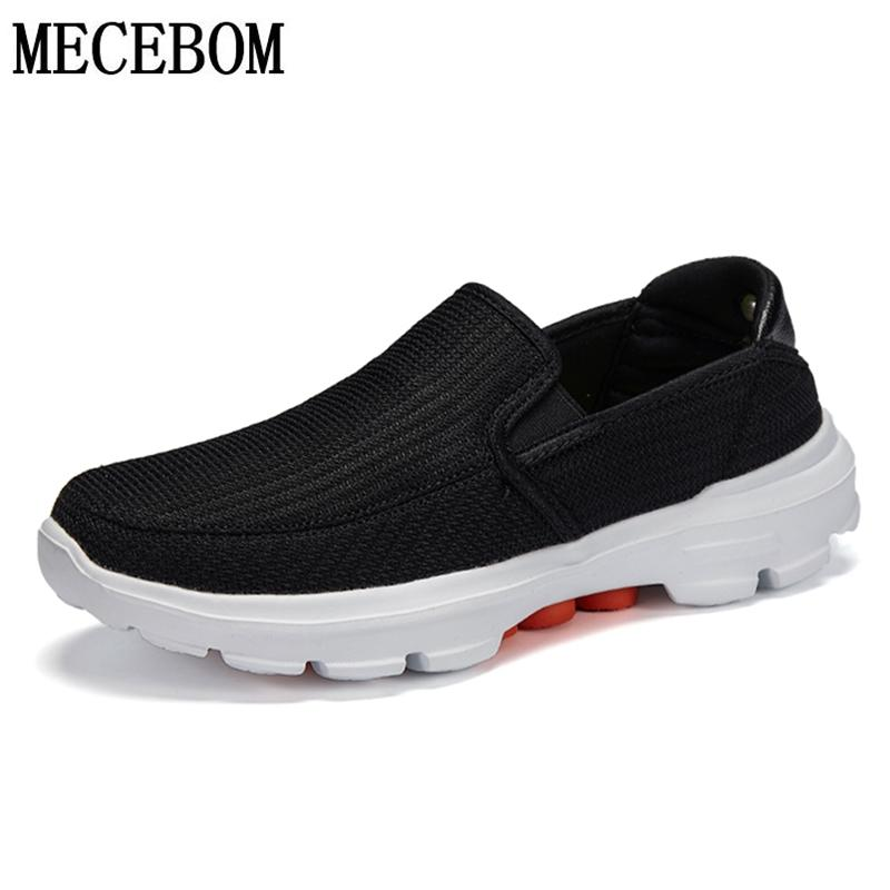 Men Casual Shoes Slip-on Lightweight Md Soles Men Casual Shoes Breathable Mesh Shoes Men Sneakers Zapatos Hombre 38-45 F879m MX190730