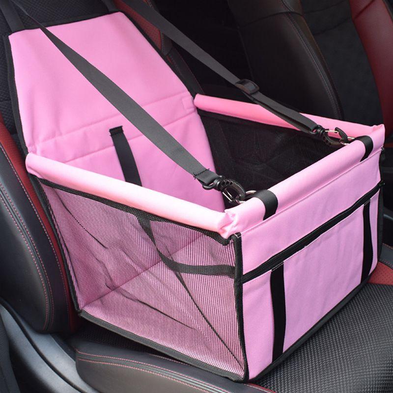 كلب الناقل مقعد السيارة وسادة حصيرة آمنة تحمل منزل القط جرو حقيبة السفر الملحقات للماء الكلب مقعد حقيبة سلة