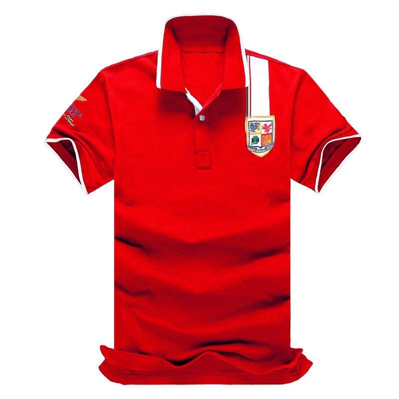 Famoso Mens Polo de manga curta Mens alta qualidade Polo T-shirt do estilista Mens Verão Tees Tamanho S-6XL