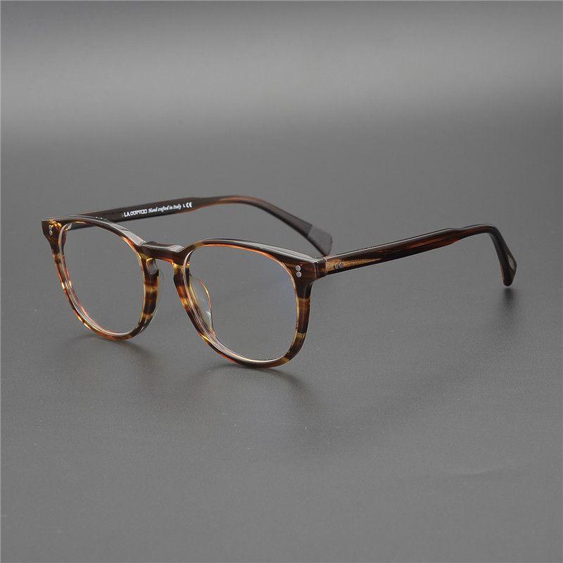 OV5298 близорукости чтения очки мужчин/женщин Финли Эсквайр. Ретро очки кадр óculos де Грау Feminino круглый оптическое стекло T200428