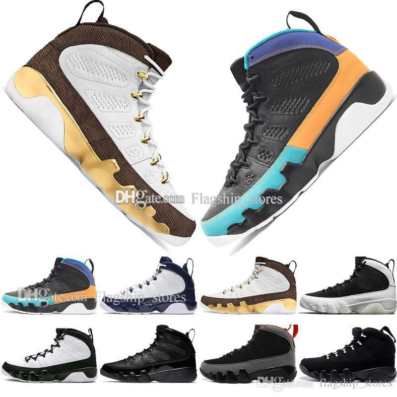 Sıcak Ucuz 9 9 s Rüya Bunu Yapmak UNC Paspas Melo Erkek Basketbol Ayakkabıları LA OG Uzay Reçel erkekler Antrasit Siyah Getirdi spor sneakers tasarımcı size40-47