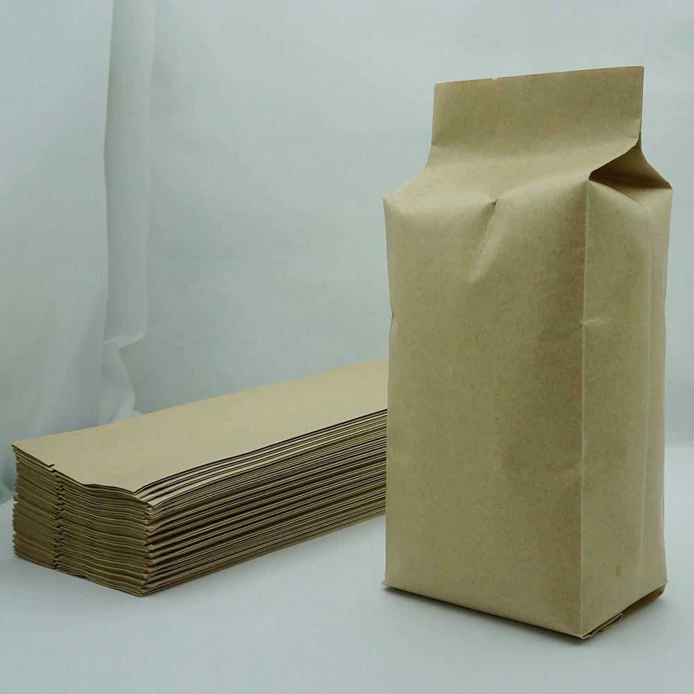 Brown Kraft Paper Bag Oragan autoportanti, 100pcs / 6.5x22cm Baguette francese sacchetto di immagazzinaggio, il mestiere di carta a soffietto tasca superiore aperta alimentari pacchetto