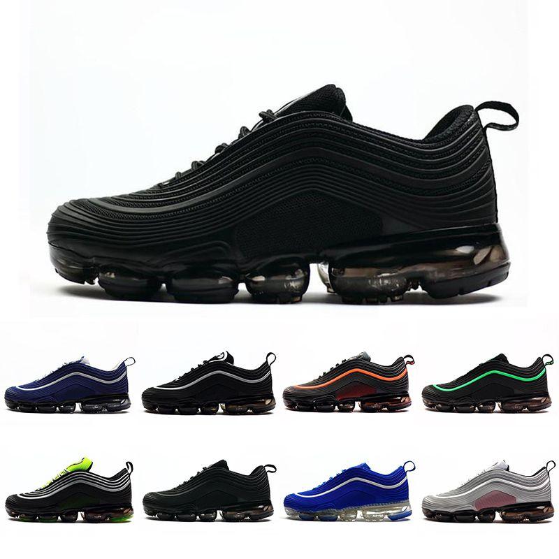 Triple Cojín negro Undefeated Ultra OG 97s Plus Zapatillas de running para hombre VPM Sports Jogging Walking Blue Zapatillas de deporte para hombre Zapatillas deportivas 40-47