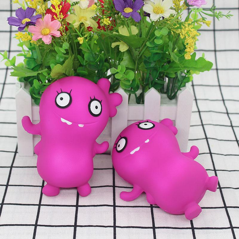 Mini Squishy Simulation Zombie Toy Stress Relieve Squishies Toy Scented Squishy Super Soft Squeeze Enter Key Toys for Kids Adults