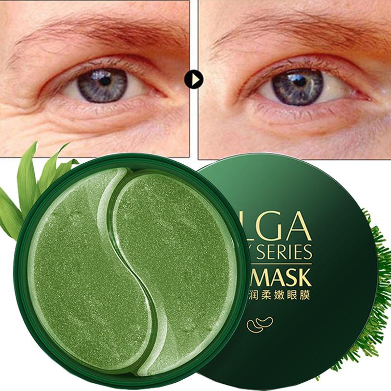30pairs ouro Collagen Eye Mask escuro Dircles Retirar rugas Bag Eye Mask Máscaras Whitening Hidratante sono para Olhos Cuidados de Rosto