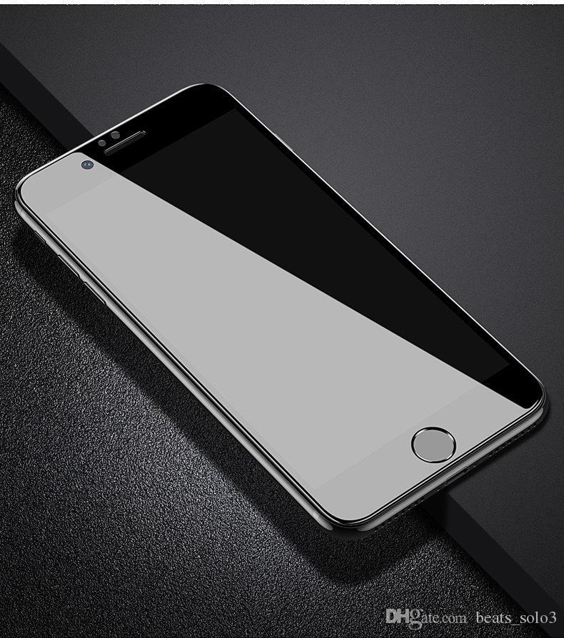 X Ap 6 iPhone 78 Sertleştirilmiş Cam Filmi Antipeep iphone 8 artı Sertleştirilmiş patlamaya dayanıklı Filmi Sıcak öğeler