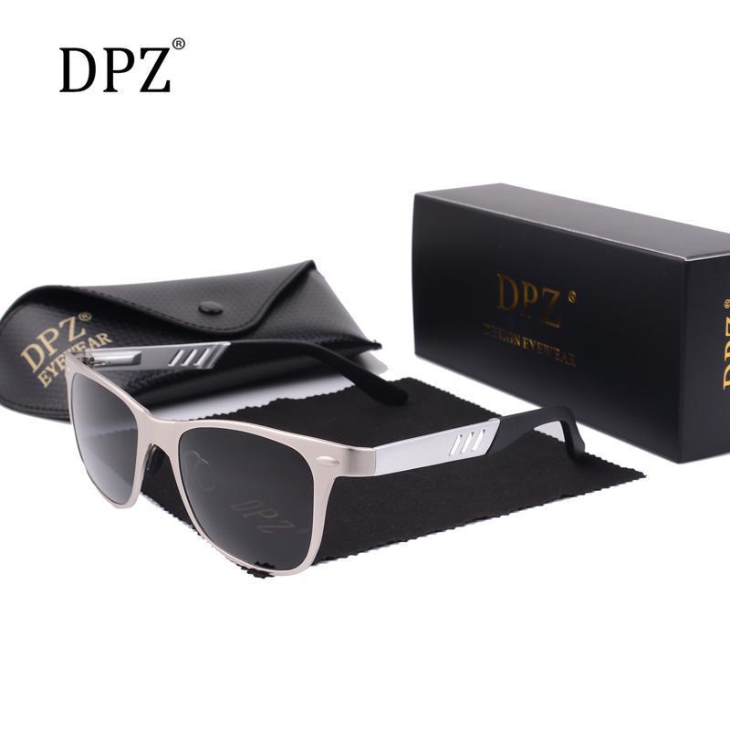 DPZ 2020 magnesio alluminio Occhiali da sole da uomo uomini polarizzati Coating Occhiali Oculos Maschio Accessori di Eyewear per gli uomini njXsi