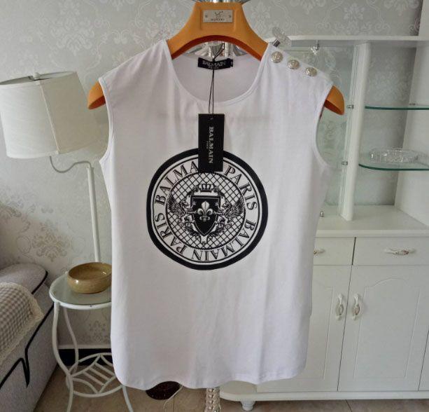 Vestiti delle donne Tank Top Donna Designers maglietta lusso manica corta Womens Designers Abbigliamento taglie S-L