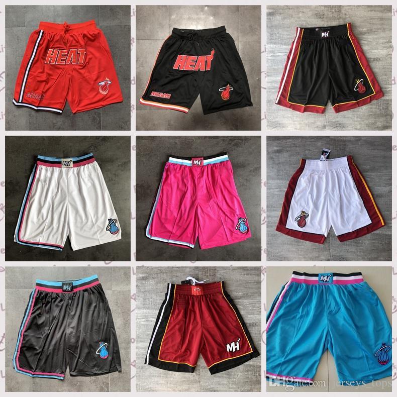 FILWS Dwyane Wade Pantalones Cortos Deportivos De Tendencia Retro De Baloncesto Miami Heat # 3 Pantalones Cortos De Baloncesto Sueltos Pantalones De Entrenamiento