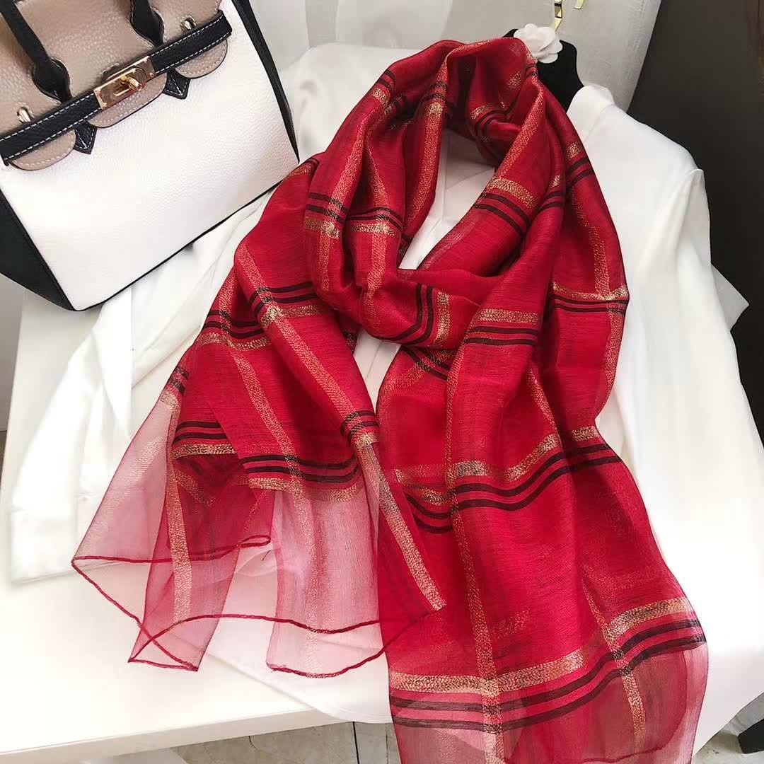 Классические и женщины проверили хлопок 180 * 70см шарф платок роскошный и красивый многоцветные шарф ------------------------------