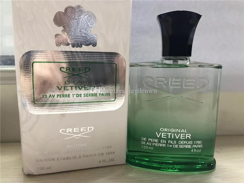 2019 Новый Символ Веры ветивер ирландский для мужчин духи спрей духи с длительным временем высокое качество аромат capactity зеленый 120 мл одеколон