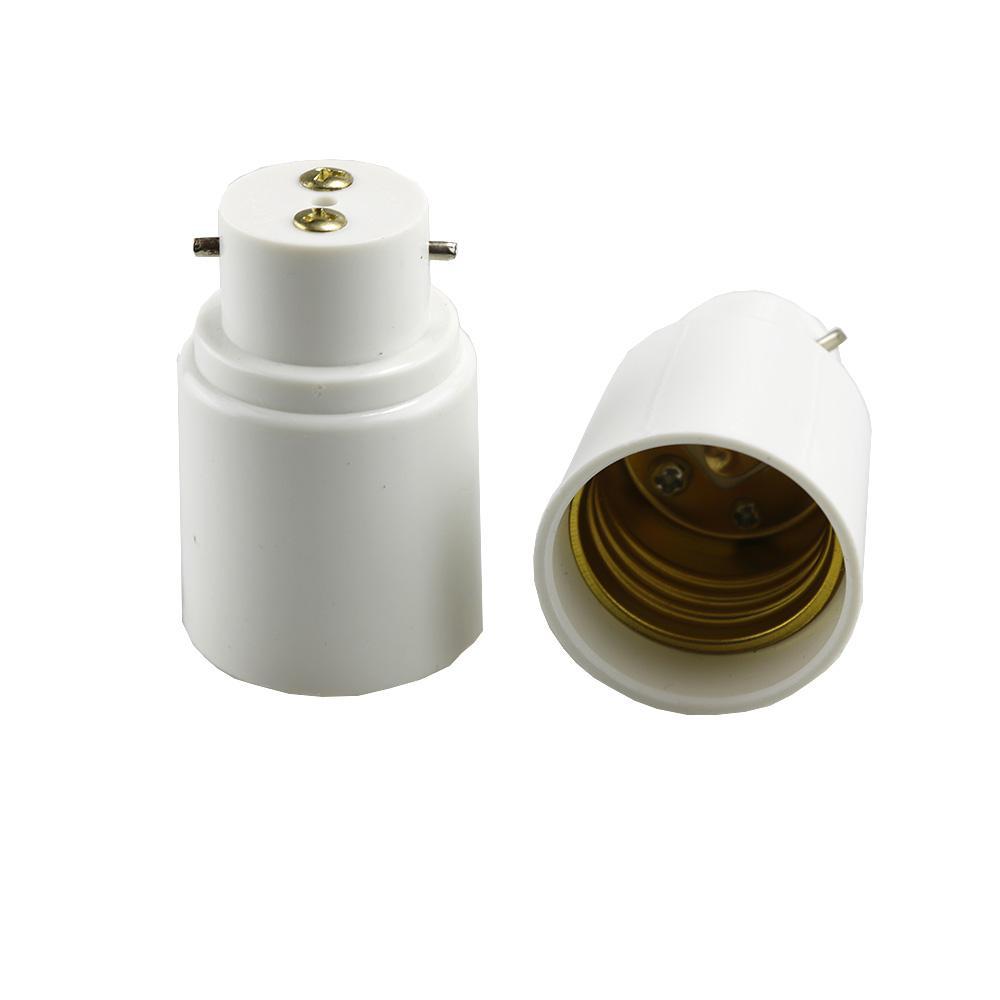 B22 جديد لمبة E27 LED الهالوجين قاعدة CFL ضوء مصباح محول محول المقبس المقبس حامل التغيير العالمي موسع
