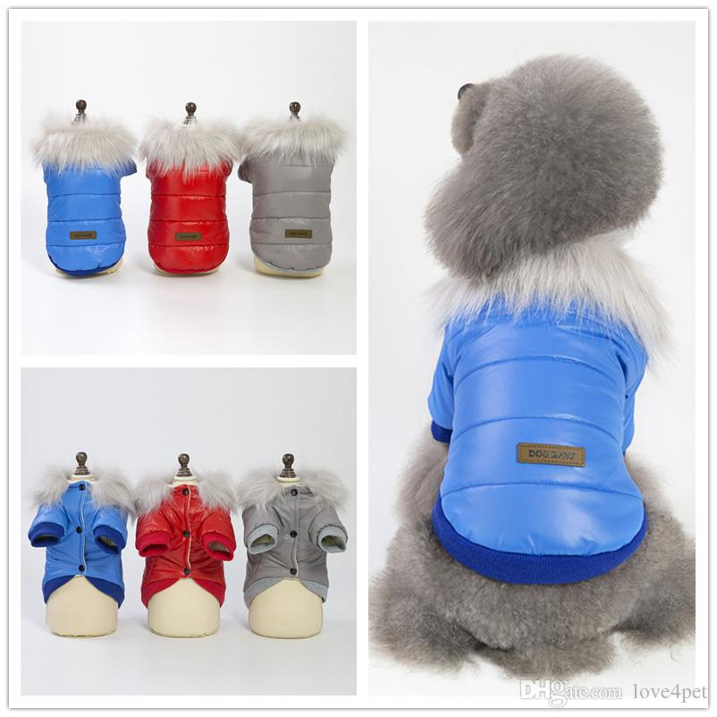 F125 dog winter jacket pet dog taffeta clothes winter clothes warm winter coat 2019 new style