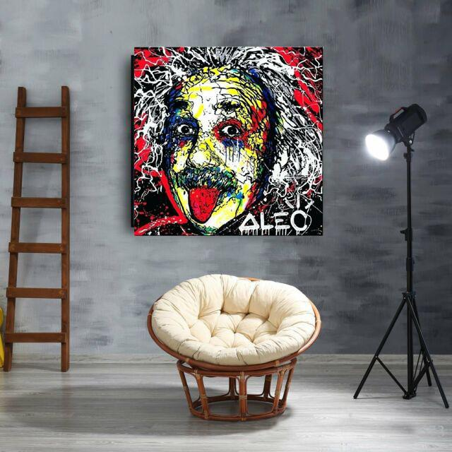 Alec Monopoly Albert Einstein Home Decor Handcrafts /HD Print Oil Painting On Canvas Wall Art Canvas Pictures 200518