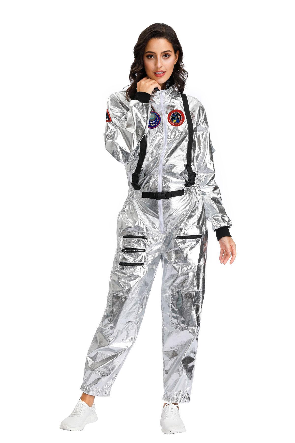 los hombres del traje espacial de vacaciones carnaval y las mujeres traje espacial Disfraces inflables divertido de la fiesta de Halloween vestido de animal dinosaurio mascota del traje