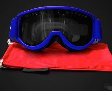الجملة سوب صامد للريح مرآة اسطوانية التزلج نظارات طبقة مزدوجة لمكافحة الضباب في الهواء الطلق windproof والتزلج نظارات نظارات تسلق شريط مطاطي