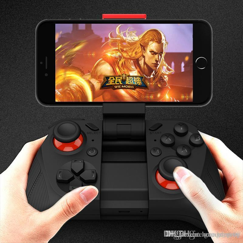 2019 MOCUTE 050 Bluetooth3.0 Drahtloser Gamepad VR-Gamecontroller Android Gaming Joystick Bluetooth-Controller für Android-Smartphones K-JYP