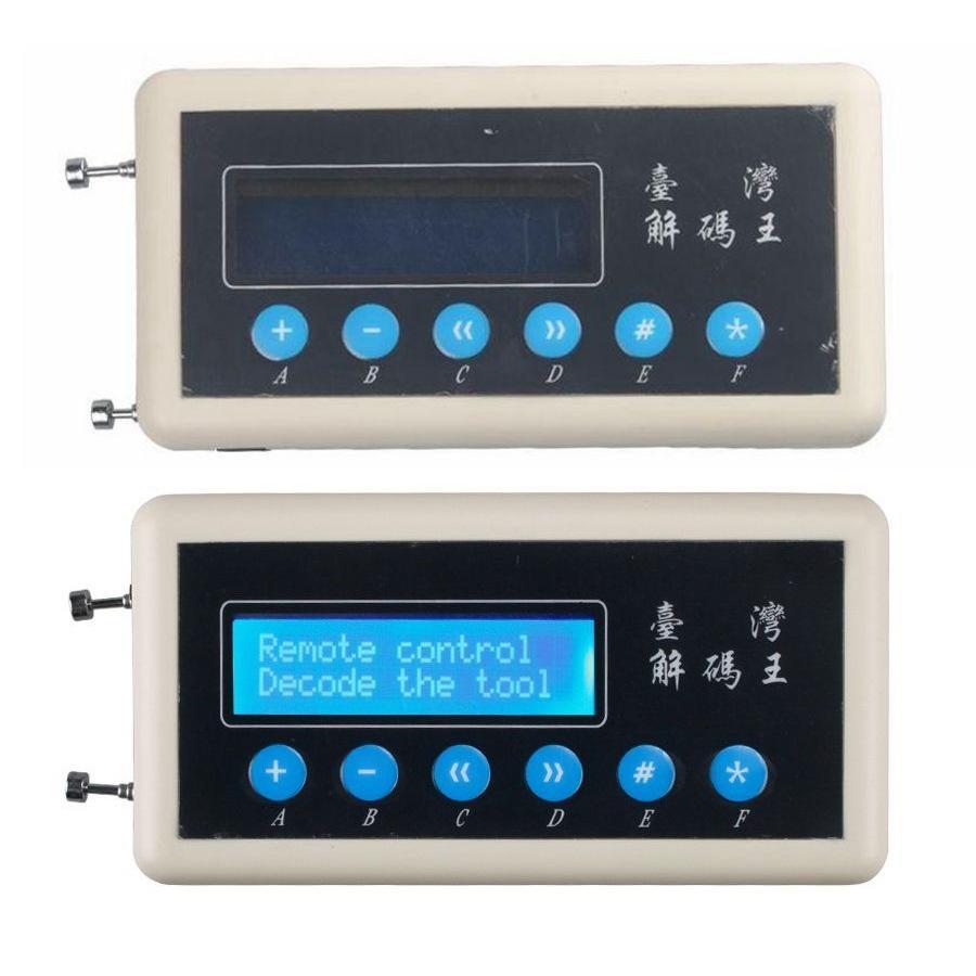 Fcarobd 1pc 433mhz telecomando scanner di codici 433MHz telecomando chiave copiatrice 433 MHz rivelatore senza fili duplicatore