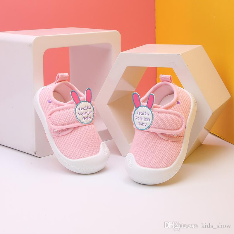 Toddler Infant Newborn Kid Baby Cute Rabbit Shoes Sole Prewalker Warm Shoes US