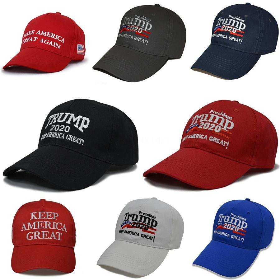 Trump 2020 Başkan Beanies Yün Örme Cap Kadınlar Erkekler Abd Bayrağı Harf tutun Amerika Büyük Beanie Bere Kış Nakış Cap Ljja3005 15.