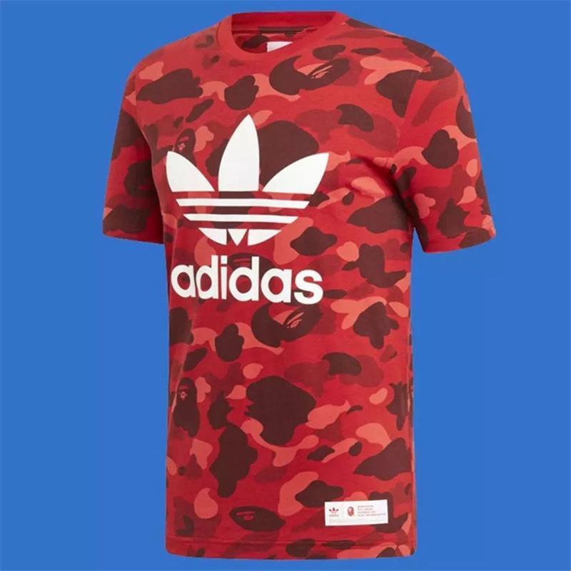 atacado Mens Fashion DesignerShirts Brandt-shirts Verão exterior atividade top Tees Luxo manga curta camisas frete grátis AS1 2022705V