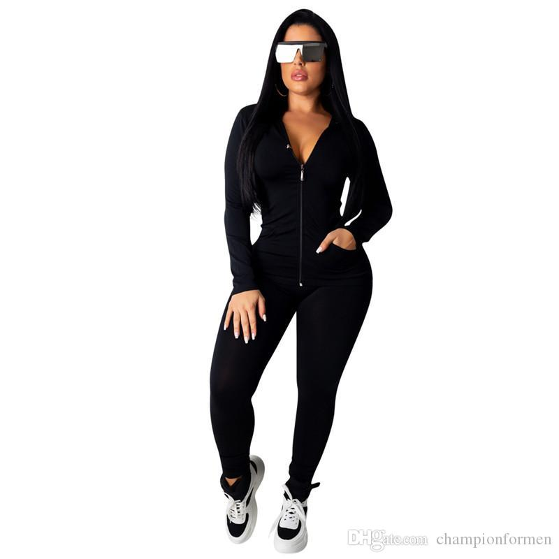 Sexy Frauen Designer Zweiteiler Hose Mode Panelled Langarm Lange Hosen Damen Sets Schlank Weibliche Kleidung