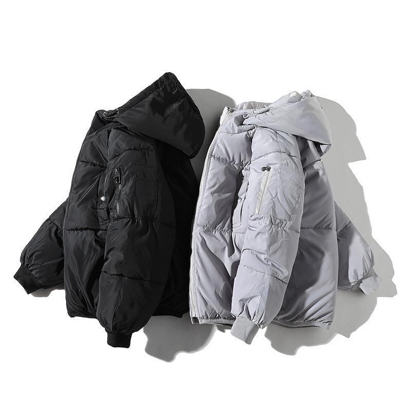 Zipper Men's Overcoat Windbreaker Winter Jackets Coat Cotton MThcik Male Hooded Warm Outwear Coats Brand Clothing Sportswear #mf