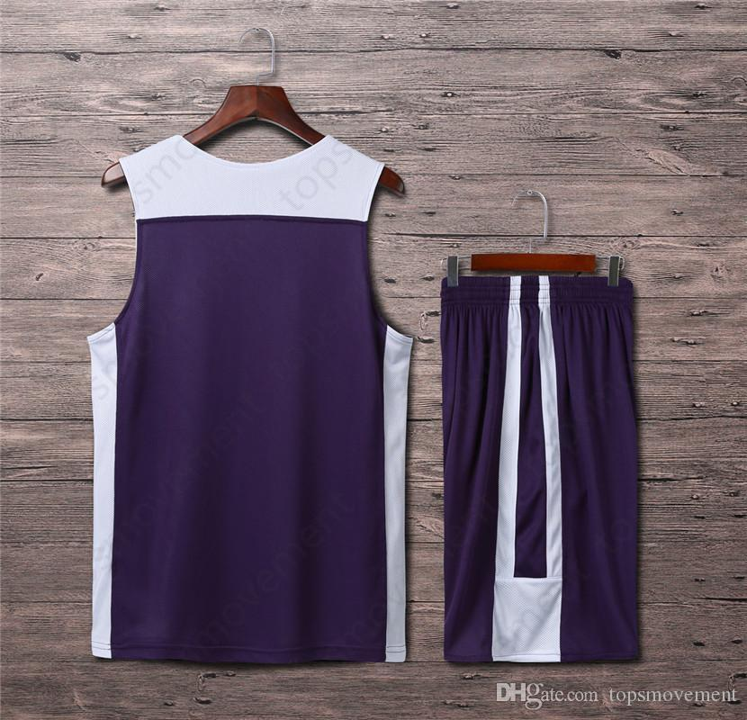 2019 Lastest Homens Basketball Jerseys Hot Sale Outdoor Vestuário Basketball Wear 0796yyu alta qualidade