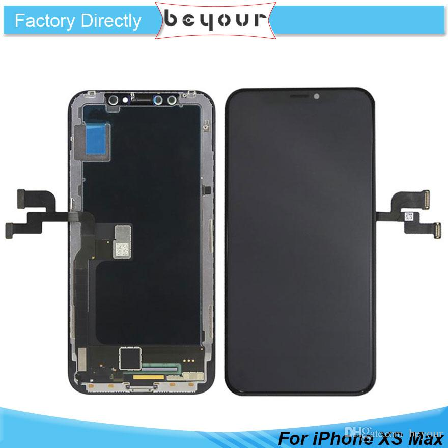 separation shoes 1c4ec d2088 100% Original OLED Screen For IPhone XS Max LCD Grade AAAAA Screen ...
