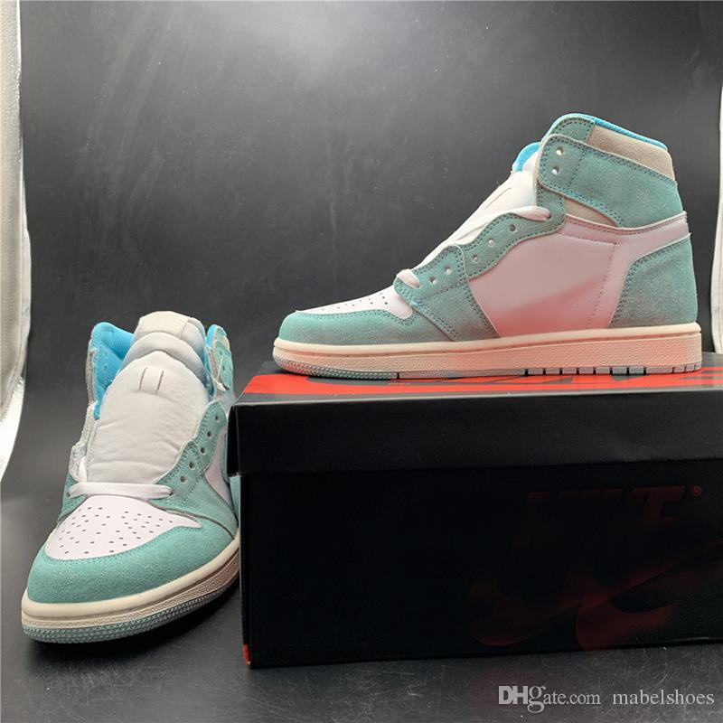 Turbo Green Basketball Shoes 1s Upper